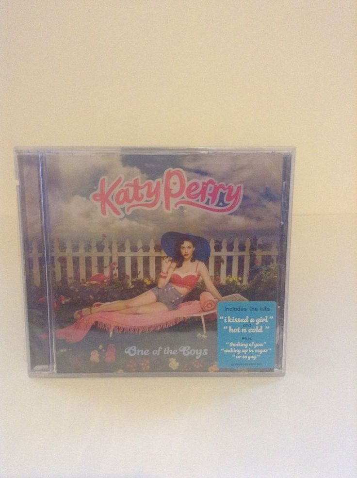 NIP Sealed Katy Perry One Of The Boys Pop Rock Music CD I Kissed a Girl #Rock