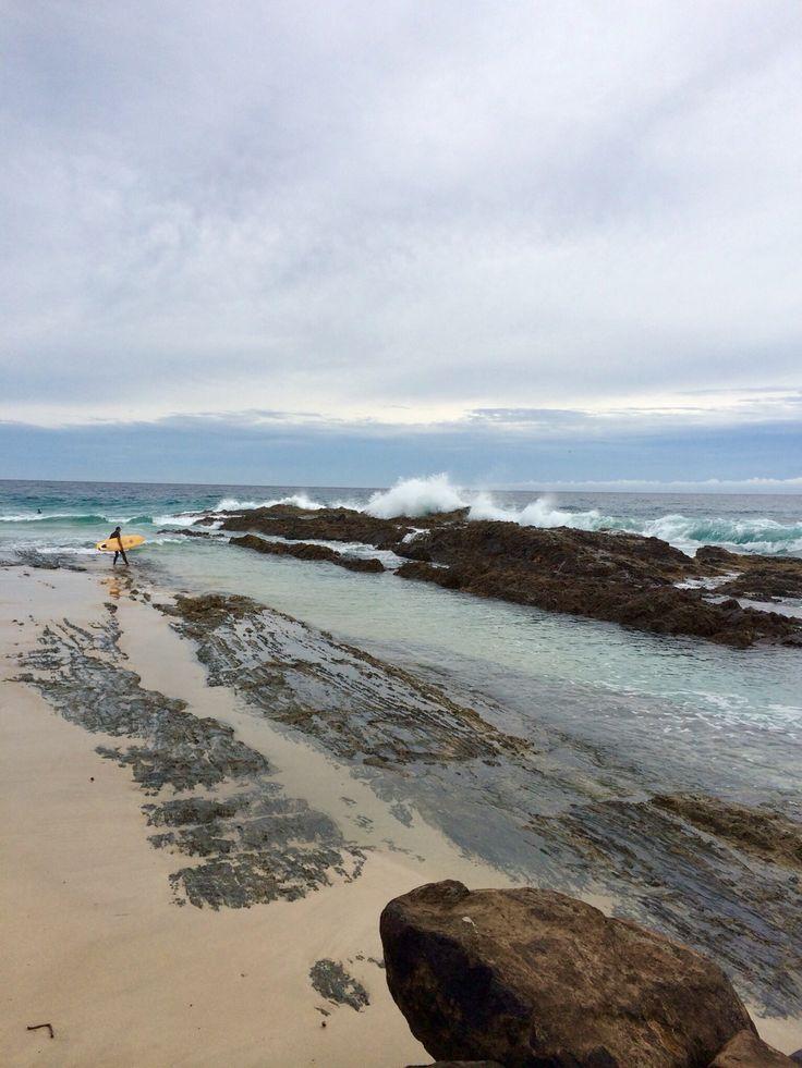 Snapper rocks beach travel goldcoast water surf