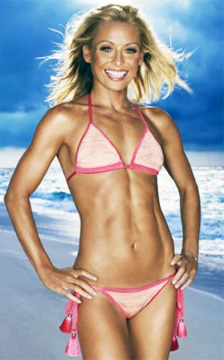 Kelly Ripa Workout: How She Stays So Thin! | Pop Workouts                                                                                                                                                                                 More