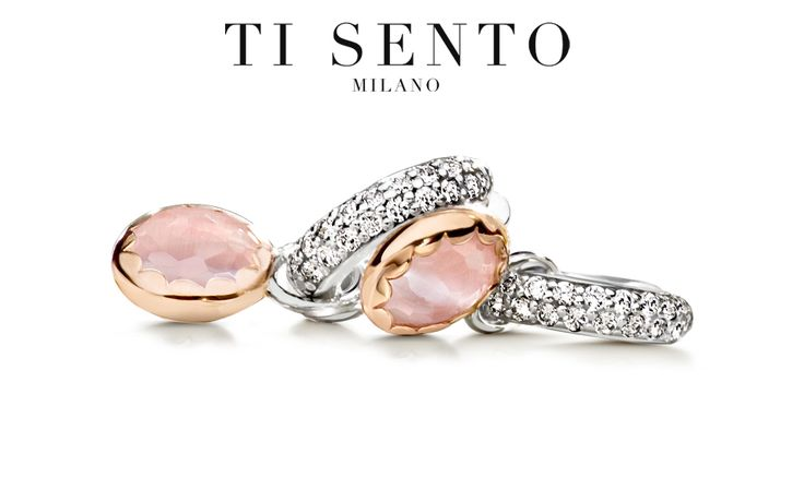 Ti Sento Milano: Cat's Eye Soft Pink Rose Gold Plated Ear Charms and Sterling Silver CZ Earrings. #SkatellsGreenville #SummerTime