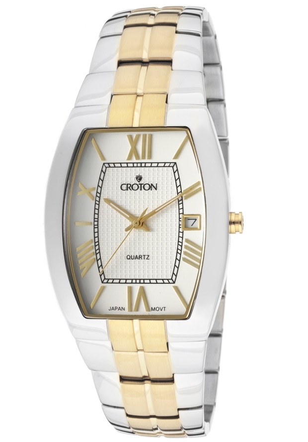 Price:$95.63 #watches Croton CN307075TTWD, With a royal appeal, this Croton timepiece has a regal design and adds a refined look to your wardrobe.