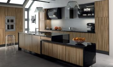 Bella Light Walnut Kitchen - By BA Components.