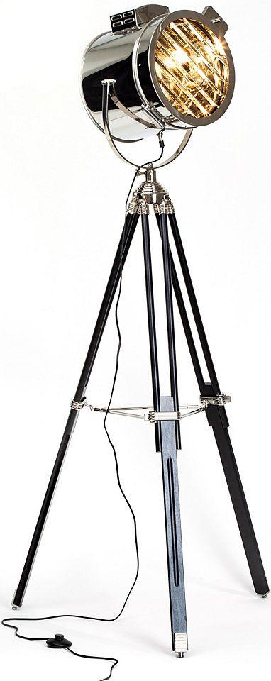 BRILLIANT Staande lamp in materialenmix #ottonl