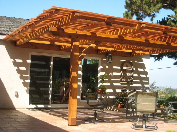 31 best patio covers images on pinterest | patio ideas, backyard ... - Free Patio Cover Design Plans