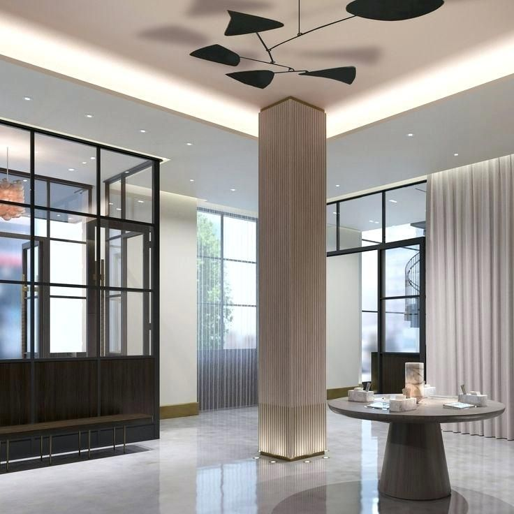 Columns Design Column Modern Design Decorative Columns Interior Design Manhattan House Interior Columns Lobby Interior Design