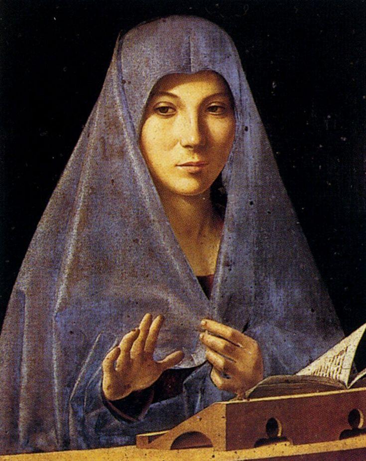 Annunciation Oil on canvas 1477