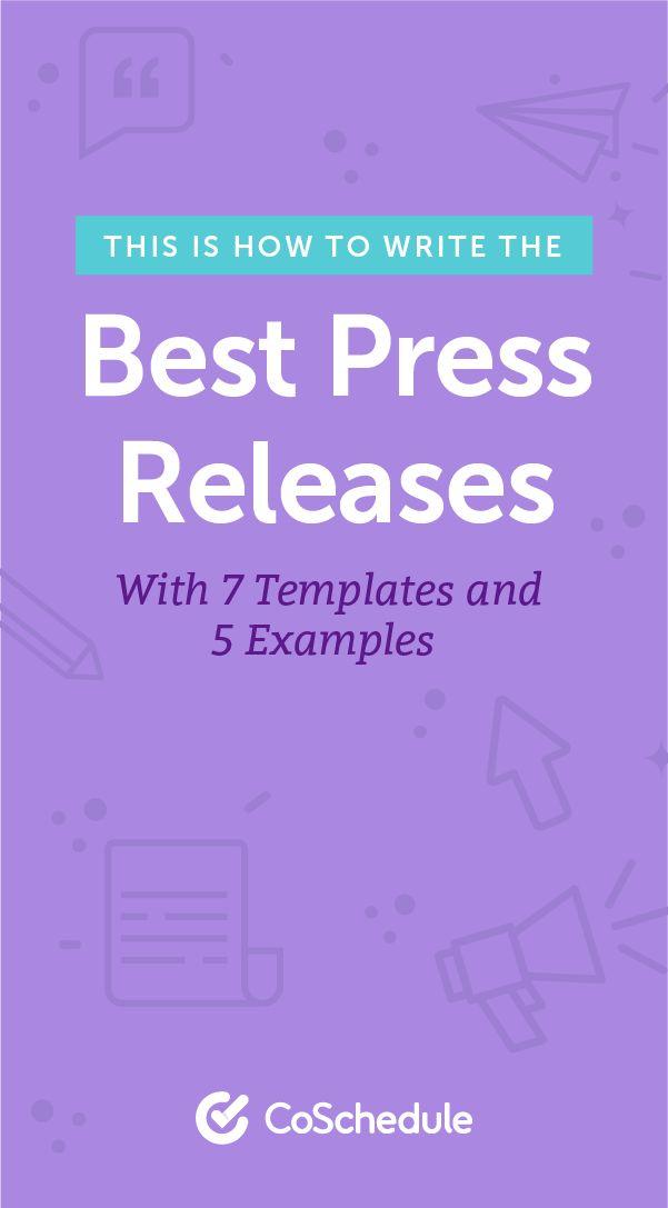 The 25+ best Press release ideas on Pinterest Public relations - release plan template