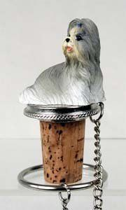 Shih Tzu Bottle Stopper (Mixed) by Conversation Concepts. $11.95. Pewter Base with chain and Ring to keep it with the bottle.. Made of Poly Resin and Hand Painted.. Wine Save Cork. Satisfaction Guaranteed. Approximately 1.5 - 2 inches.. Make every event a great event with this life like critter on your cool Shih Tzu Bottle Stopper (Mixed). Who could resist the charms of this cute little guy designed to fit perfectly atop any standard wine bottle. Measuring at 1 1/2 to...
