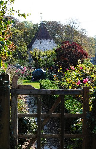 The village of Westdean ~ is very old world and is reached via the road which can be flooded with the Cuckmere River breaks its banks, East Sussex, England take your coupon. #airbnb #airbnbcoupon
