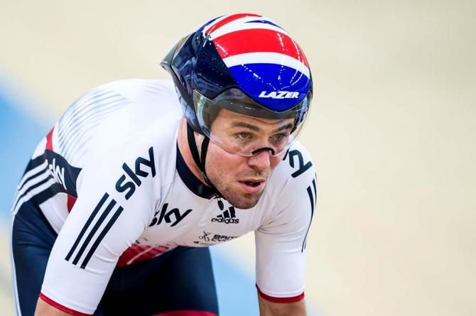 Mark Cavendish in action on the track with Great Britain (Getty Images Sport)