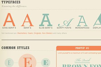 Type guide: a comprehensive and brief insight into fonts & design basics