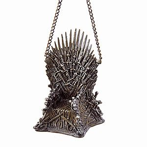 Game of Thrones Iron Throne Ornament | ThinkGeek