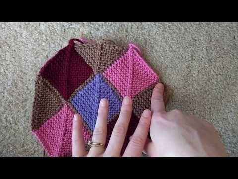Ladybug Laboratory - Blanket Tutorial 6: Top and Bottom Edges - YouTube  Часть-6