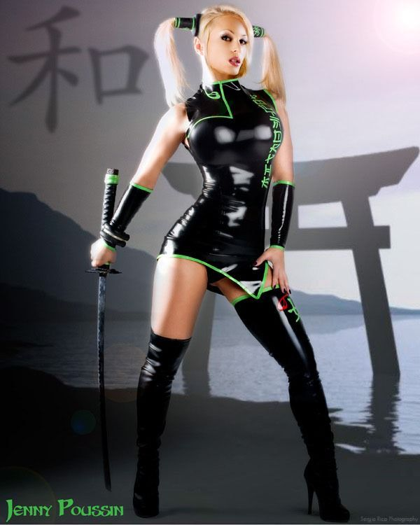 jenny poussin cosplay