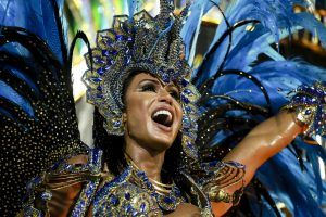 Portela samba school performs in 2016, photo by Tata Barreto/Riotur. Brazil, Brazil News, Rio de Janeiro, Carnival, Carnival 2017, Portela, samba schools, Grupo Especial, samba parade competition