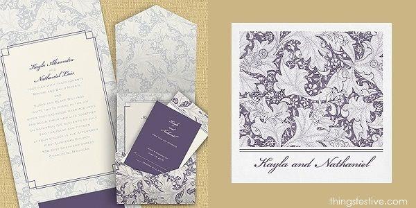 perfectly coordinated wedding invitations & napkins #wedding #WeddingInvitations #WeddingNapkins