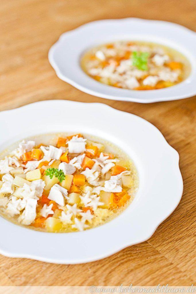 Hühnersuppe – perfekt bei Erkältung