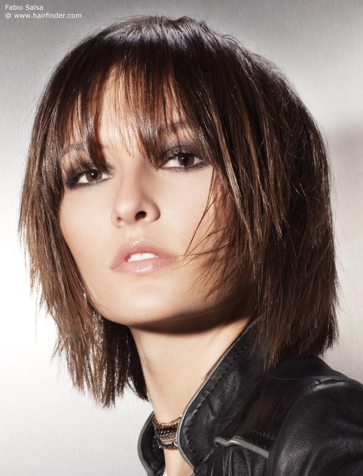 Excellent 1000 Ideas About Neck Length Hairstyles On Pinterest One Length Short Hairstyles Gunalazisus