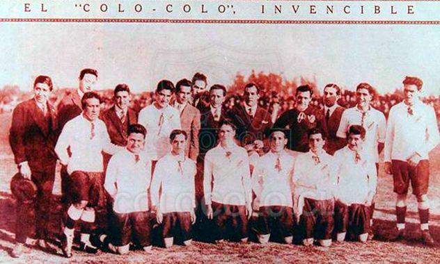 """El """"Colo-Colo Invensible"""""""