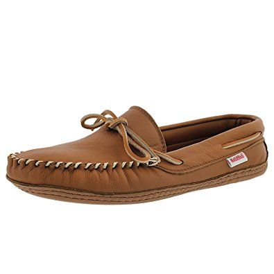 7c18d23cbb5b SoftMoc Men s 3000 Double Sole Deerskin Leather Lined Moccasin Review