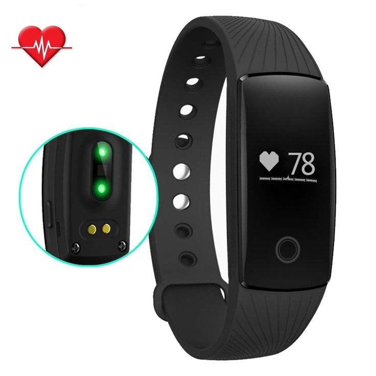 Fitness Tracker NewYouDirect Heart Rate Monitor Activity Tracker Pedometer Smart Fitness Watch Wireless Sleep Wristband for IOS Android(Black). Smart Band - Display incoming call name/time and date,vibration reminding for Calls/SMS/WebChat/Facebook/Twitter/WhatsApp/Linkedin/Instagram/Messenger messages and clock alarm(up to set 10 time).Also enabled with camera remote capture,find phone and anti-lost alert functions. Heart Rate Monitor -This bracelet can monitor your all day heart rate…