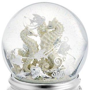 Personalized Sea Horse Water Globe