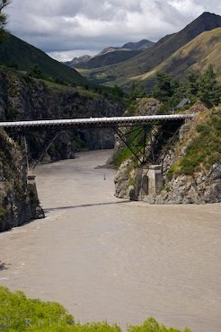 Bungy Jumping, Thrill Seekers Canyon near Hanmer Springs, South Island, New Zealand