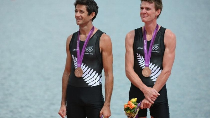 Bronze medal to Taylor and Uru | olympic.org.nz