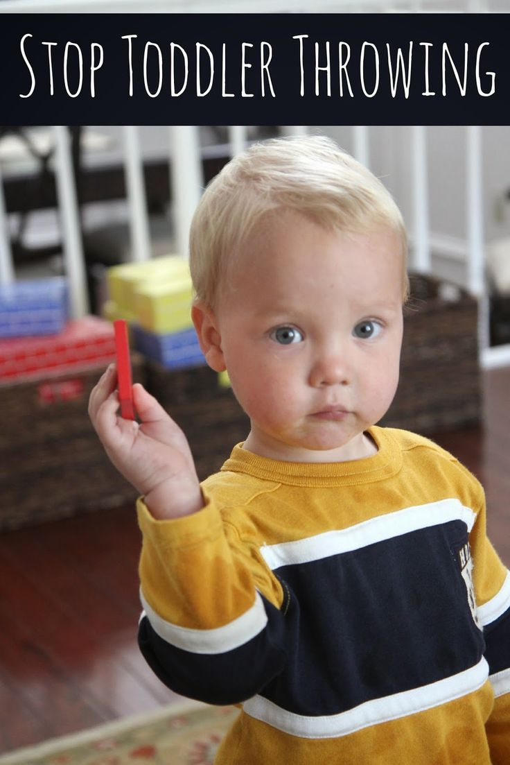 Toddler Approved!: How Do I Stop My Toddler from Throwing Things!.