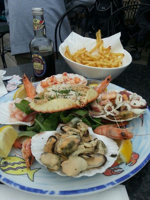 Latimers seafood delight, Whitburn South Tyneside