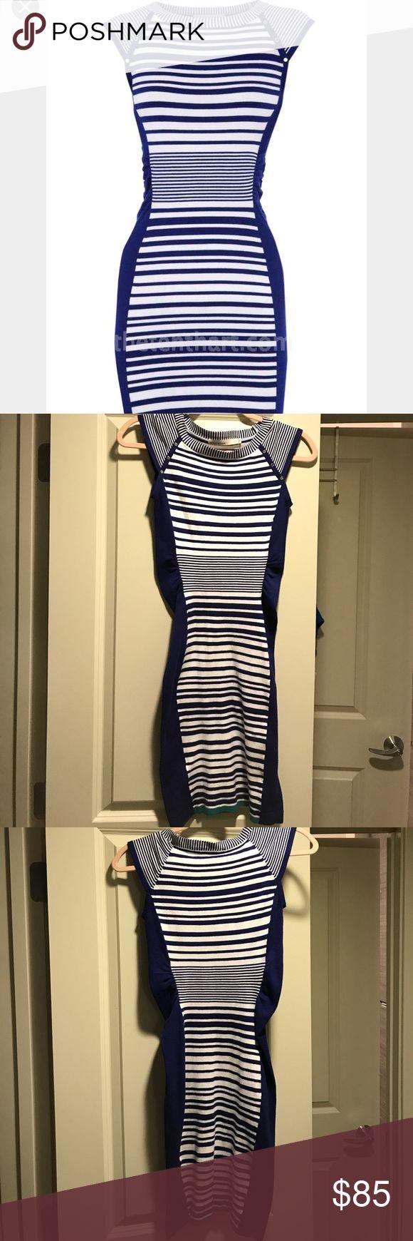 Karen Millen knit dress Excellent condition.  Karen Millen knit dress.  KM size 1.  Fits like an XXS -XS.  Has some stretch. Karen Millen Dresses