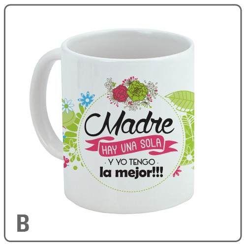 tazas dia de la madre mama · regalo con foto o frase