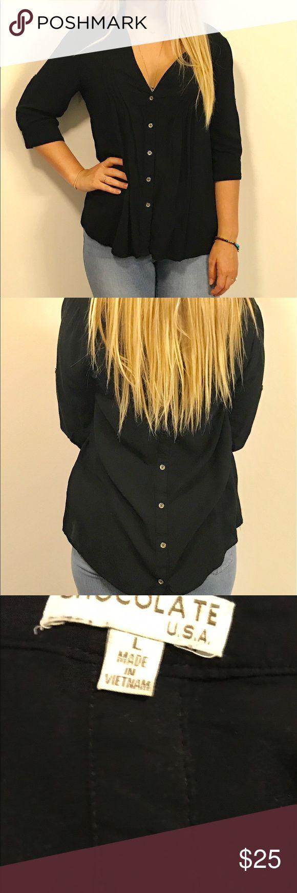25 best ideas about black button up shirt on pinterest for V neck button up shirt