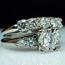 17 Best 1000 images about Vintage Silver Engagement Rings on Pinterest