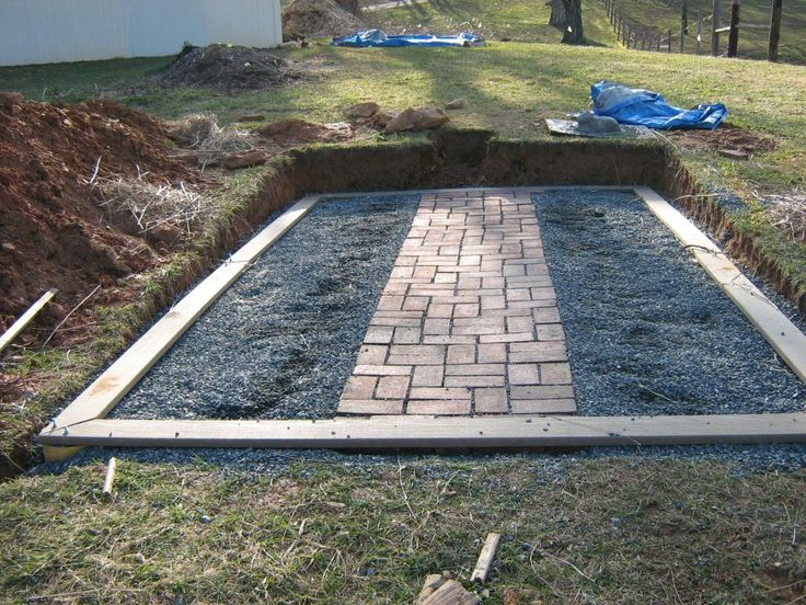 greenhouse foundations and floors - Google Search - Idyllic Gardens