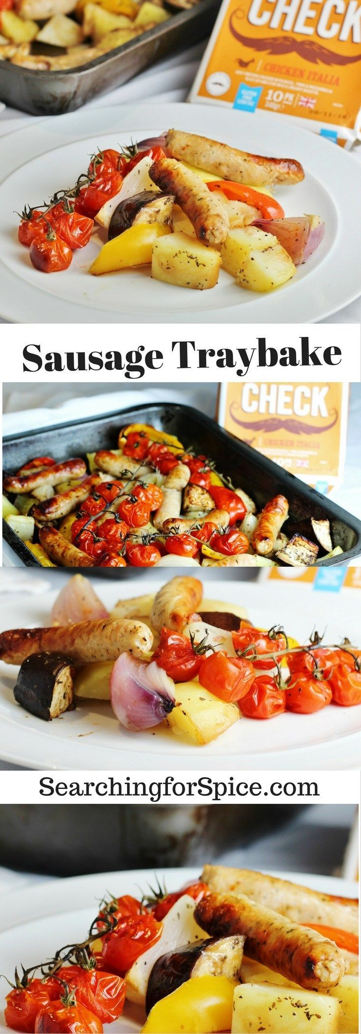 This easy sausage traybake recipe is perfect for a simple midweek meal.
