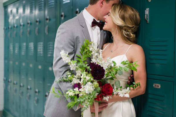 High School Sweethearts Wedding Inspiration :: Love Be Photography Featured on Southern Weddings