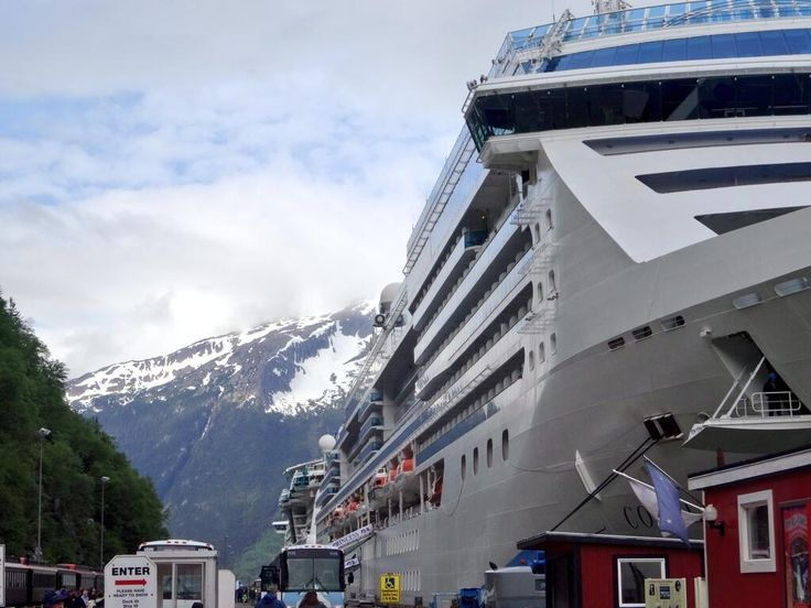 Radiance of the Seas arrives in Skagway, Alaska.: Alaska Cruise Royal Caribbean, Cruiseabout Alaska, Cruise Ships, Alaskan Cruise, Cruise August, Cruising Ships, Cruise Cruiseabout, International Cruise