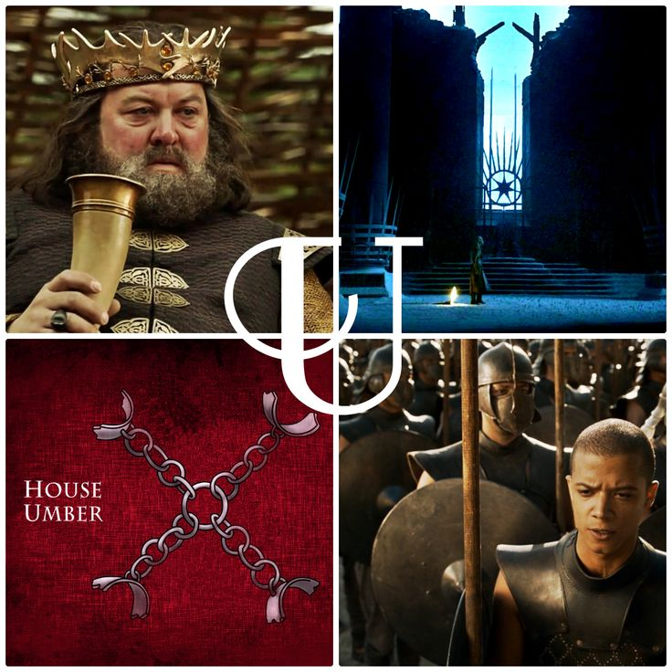 """U is for … … the """"Usurper"""" Robert Baratheon, House Umber, the Unsullied, and the Undying"""