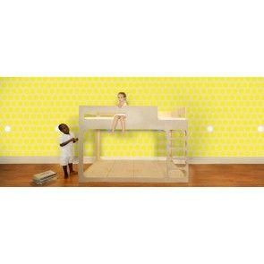 Pop & Lolli - Dottiliscious Wall Paper - Yellow Bubble