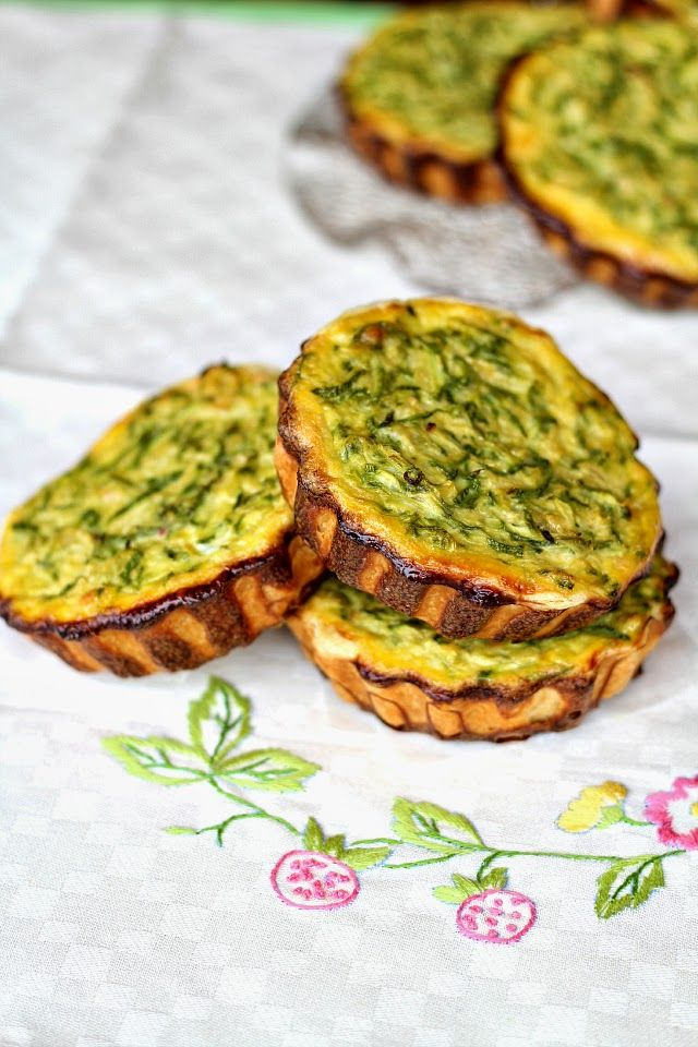 Mini quiches di zucchine