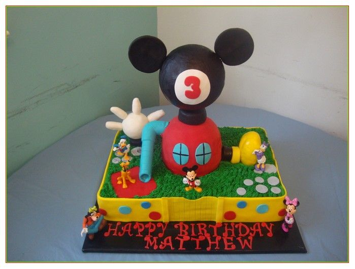 Mickey Mouse Clubhouse Birthday Cakes At Walmart