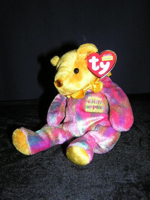 BEAR HAPPY BIRTHDAY NOVEMBER TY BEARS CUTE NEW BEAR our store link http://stores.ebay.com/store4angels?refid=store come see our store front always have great sales