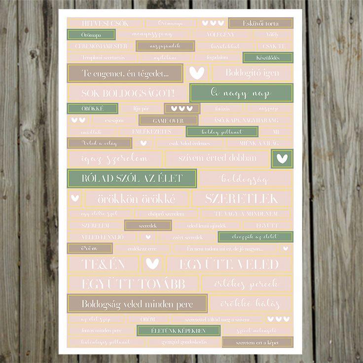 NőiCsizma   A nagy nap- esküvői matrica ív több színben