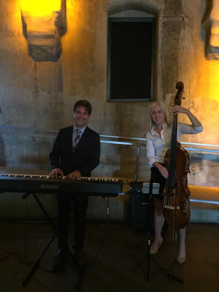 Our LIVE duo performing a ceremony at the gorgeous Fermenting Cellar