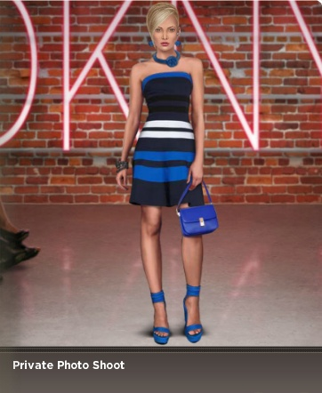 Have you checked out Fashion Week Live's explore feature? You can see how other players are styling their models and rate them! Here is a favorite from one of our fashion fans.