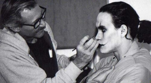 "Brandon Lee transformed ""The Crow"""