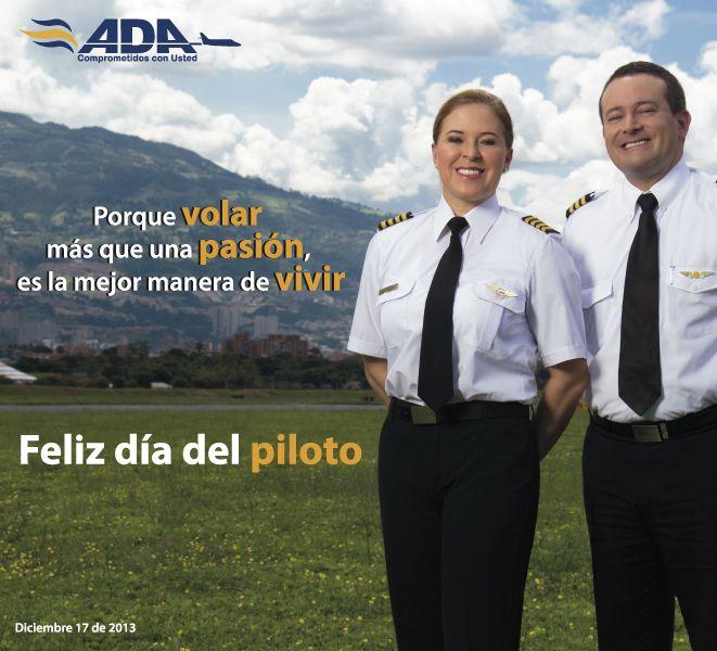 Feliz día a todos nuetros pilotos