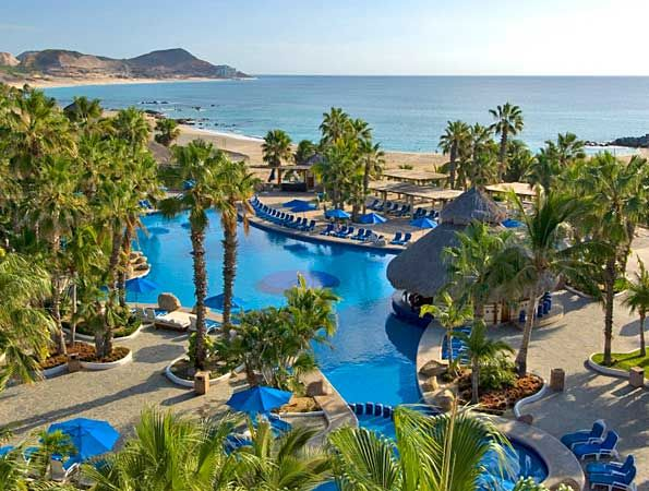 Cabo San Lucas, Mexico. Great place to go, you can drink the water there, party all night, see the sights, go fishing for BIG fish on a charter etc etc , go the the trailer for best local lobster dinner around. Be prepared, loads of young noisy drunk kids everywhere.