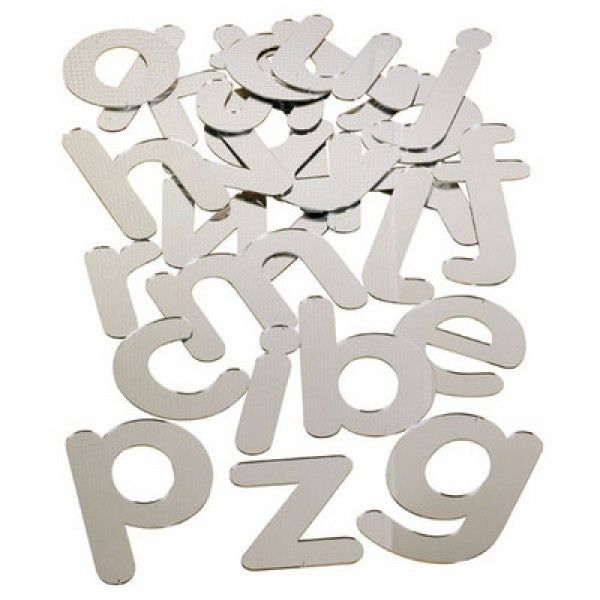 Mirrored Letters 70mm Set 26